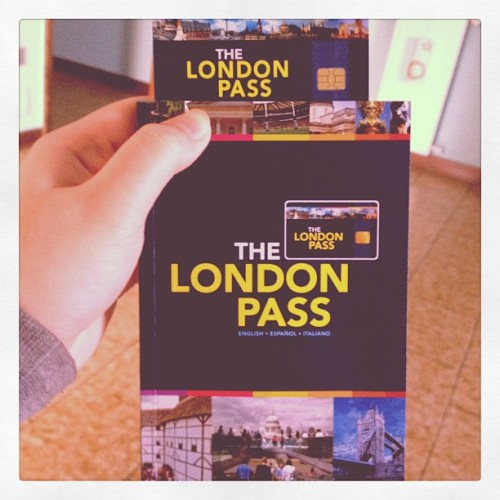 Look what just came in the mail #instagram #london #londonpass #travel (Taken with instagram)