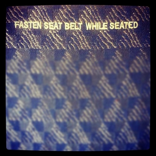 On my way to South Beach (Taken with Instagram at AA Flight #1321 to Miami)