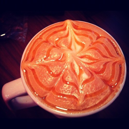 Caramel macchiato latte (Taken with Instagram at Coffee Planet)