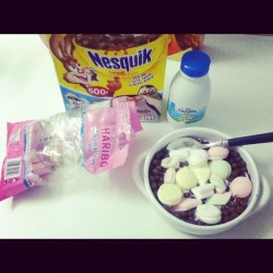 This is what I call FOODPORN! #marshmallow#cerial#cereali#nesquick#milk#breakfast#brunch#instagood#instalove#instamood#webstagram#foodporn#food#ipod#photo#picoftheday#potd#lol#loveit#like#follow#jj#insta#instago#wtf (Taken with instagram)
