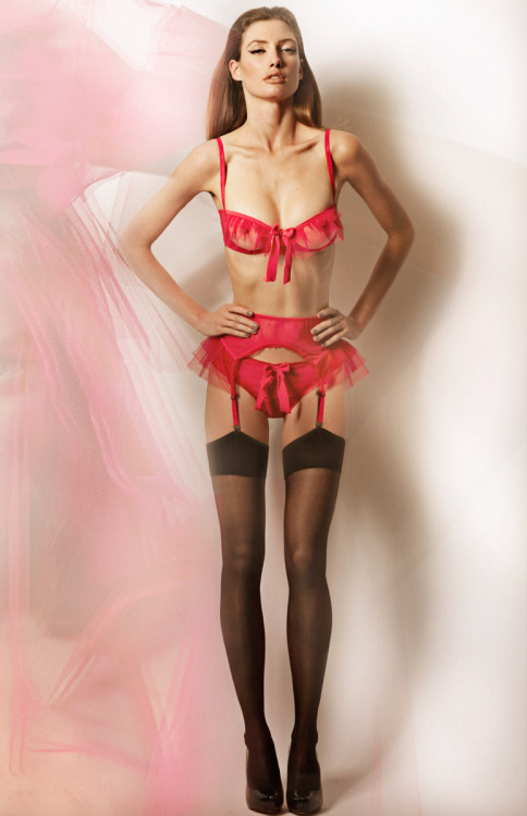 "Lascivious ""Kitty"" Set via: The Lingerie Addict"