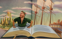 Story Book Assignment : Chris Hennessey as Peter Pan