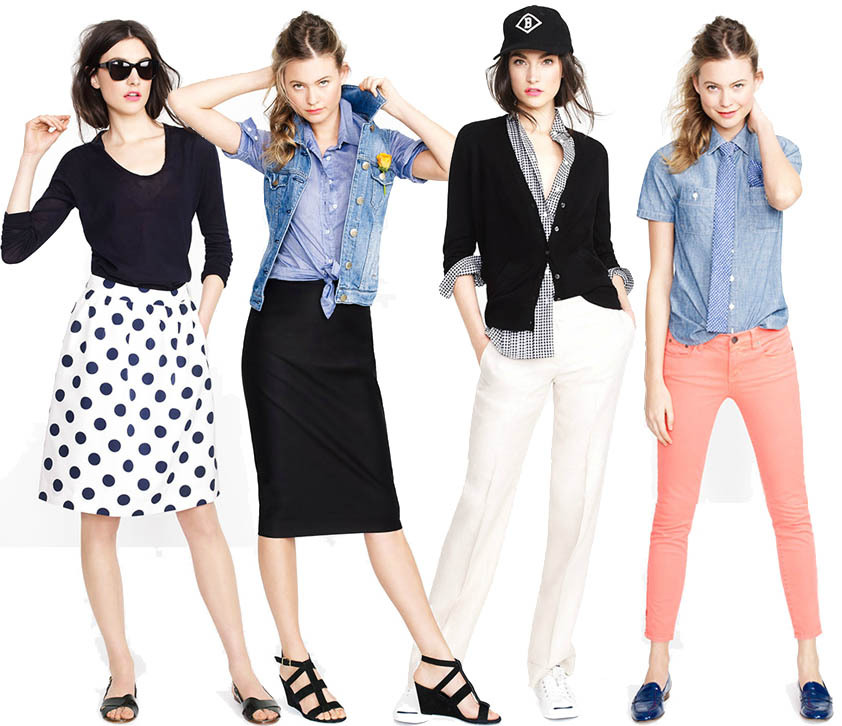 alexandrasarchive:  looks we love from j. crew