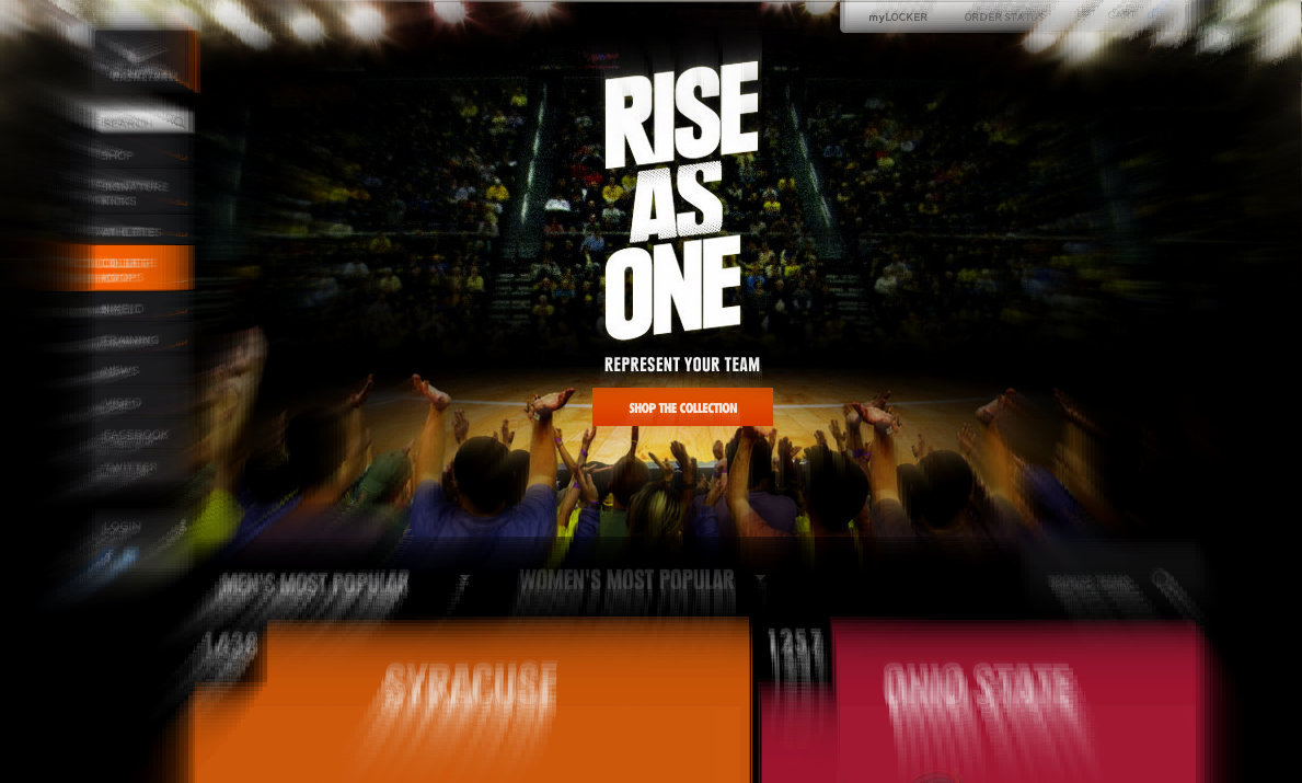 @nikebasketball @ncaa @marchmadness rise as one, rep your team.