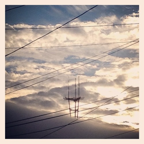 Technology in the sky (Taken with instagram)