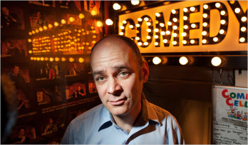 somuchfunithurts:  jessethorn:  There's a great profile of Todd Barry in the NY Times. Todd was one of the comics who was nice enough to come onto TSOYA several times in the early days, and there's really no one funnier. He also once complained about my car for 20 minutes straight while I was giving him a ride somewhere. Todd Barry's the best.  Great read.  Fantastic article about a fantastic comic, Todd Barry.  He's one of those comics whose delivery is on par with—if not more refined than—his excellent joke writing.  He can do more to point out ridiculous things with just his voice than most skilled comics can with punchlines.  I watched him read an Esquire article and he brought down the house mostly with inflection, he barely editorialized and he still made it hilarious.  If you've never seen him, make a point of doing that as soon as you can.