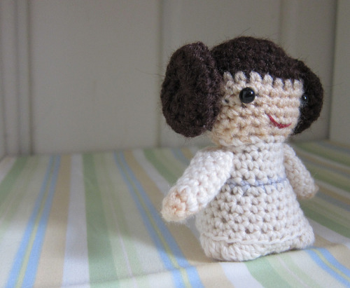 cruisecontrolforcool:  amigurumi leia :3 by chasingthenuns on flickr