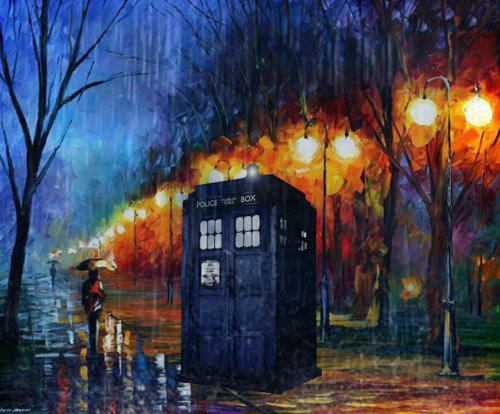 doctorwho:  TARDIS phone wallpaper by thegeek531