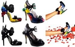 Lego shoes And other Out of Hand Observations