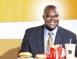 Look who just got promoted! Don Thompson has been named the new CEO of McDonald's