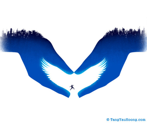 A Leap of Freedom on Flickr.Tang Yau Hoong: Website | Shop | Facebook | Tumblr | Twitter  | Behance