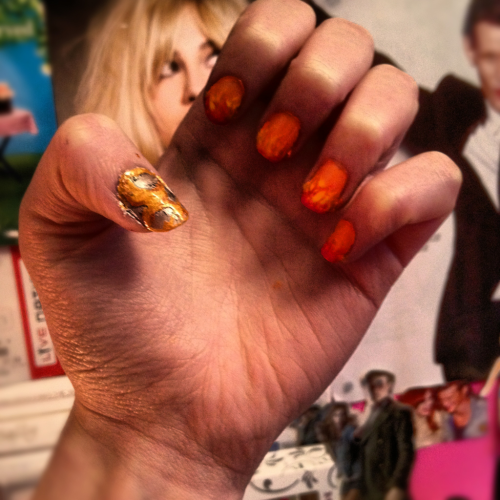 Hunger games nails!!!!