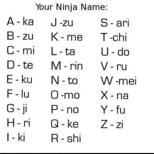 comment your ninja name!! #ninja #funny #funnypics #funnypics4u_1 #comics #memes #meme #follow #lol #lmfao  (Taken with instagram)