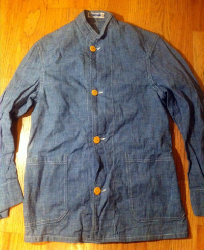 Vintage  Duck SF Chore Jacket Workwear Union Made  pick up at ebay