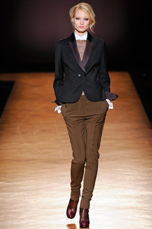 Paul Smith, Fall 2012 Ready-to-Wear (+) Marcio Madeira (firstVIEW) Melissa Tammerijn