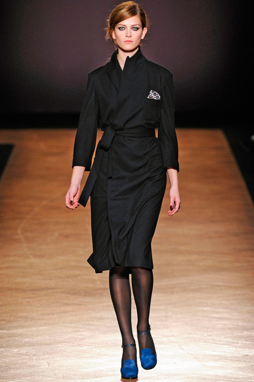 Paul Smith, Fall 2012 Ready-to-Wear (+)  Marcio Madeira (firstVIEW) Marlena Szoka