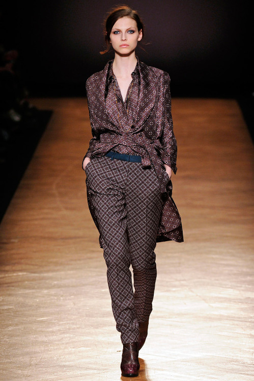 Paul Smith, Fall 2012 Ready-to-Wear (+)  Marcio Madeira (firstVIEW) Karlina Caune
