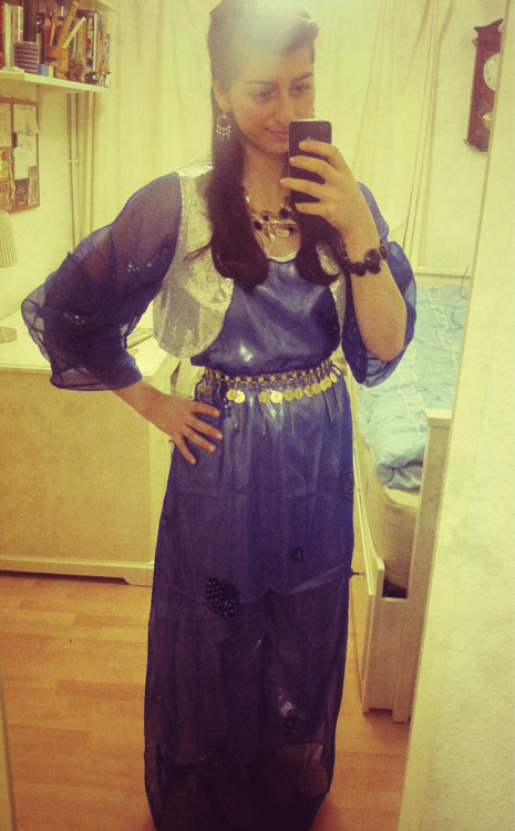 Rocking the Kurdish clothes for Newroz celebrations :-)