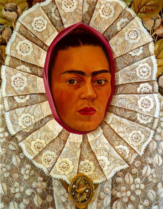 Self-Portrait Frida Kahlo