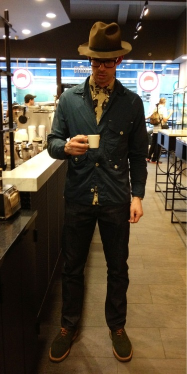 WIDT Espresso WIWT Optimo Fedora Post Overalls Cruzer EG pop over Millers Oath denim OG RoTM