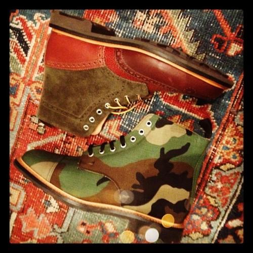 seen: shoe porn alert : : boots x @mmcnairy as seen @paulandwilliams.  (Taken with instagram)