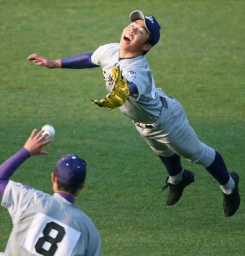 "Baseball Player Really Enjoys Messing Up   ""You've got to do something to make it exciting."""