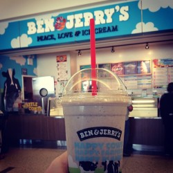 Great day for a shake. Hello spring! (Taken with instagram)