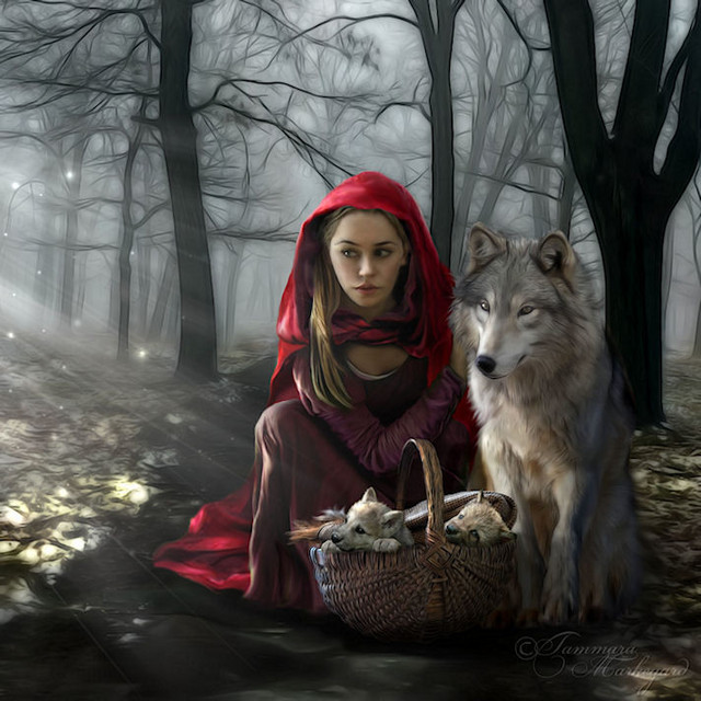 artmonia:  Enchantment of the Wolf | Tammara.