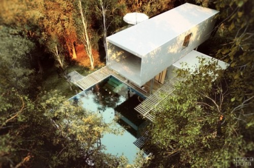 homedesigning:  Contemporary Exteriors in Nature [Visualized]