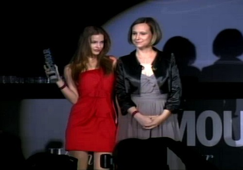Glamour Women of the Year 2012 Model of the Year: Barbara Palvin Designer of the Year: Dora Abodi (she's in Japan)
