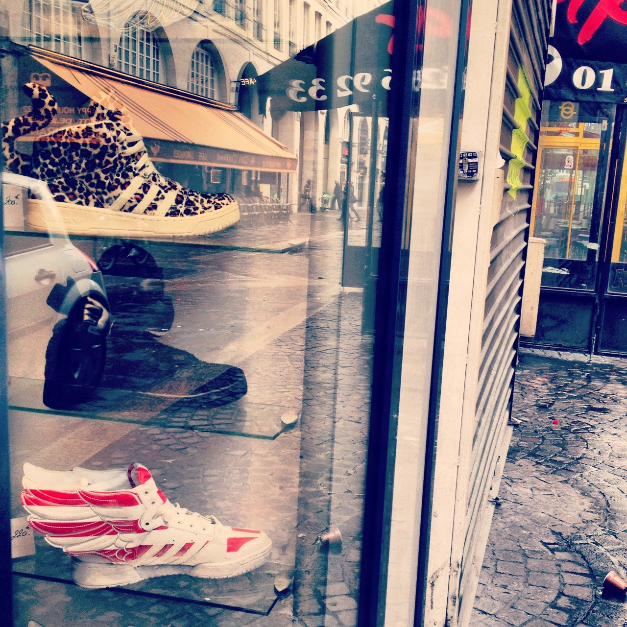 Dope kicks; Paris.