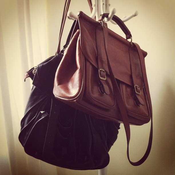 satchels on satchels #instagram #mine #vintage #ps1 #proenzaschouler (Taken with instagram)