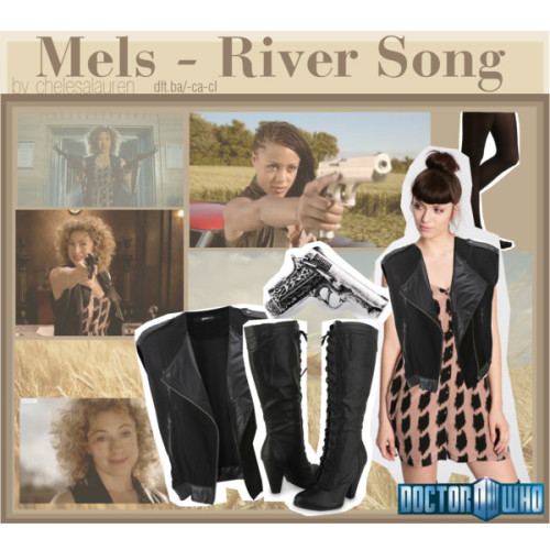 Mels - River Song | Doctor Who by chelsealauren10 featuring vintage looking rings