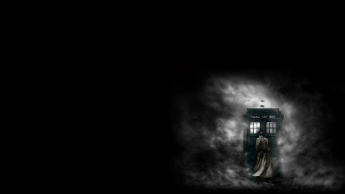 Eleven + TARDIS Wallpaper.