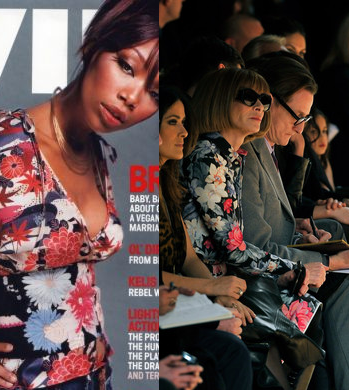 Anna Wintour copies Brandy