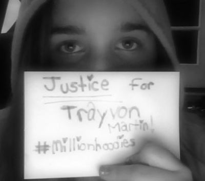 Justice for Trayvon! #millionhoodies