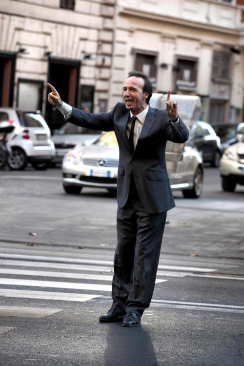 Roberto Benigni in Woody Allen's To Rome With Love