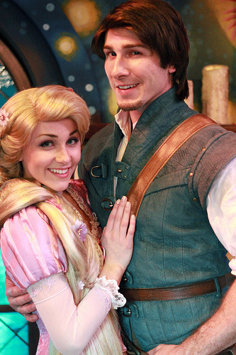belleieve:  Rapunzel and Flynn (by Jane's Jubilee)