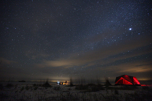 Good night! nordlig:  frynx: Everglades Camping on the Southern Most Tip of The Continental US (by boltron-)