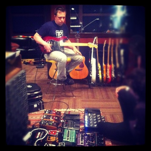 "Searching for ""that"" tone… (Taken with Instagram at Regogo Records)"