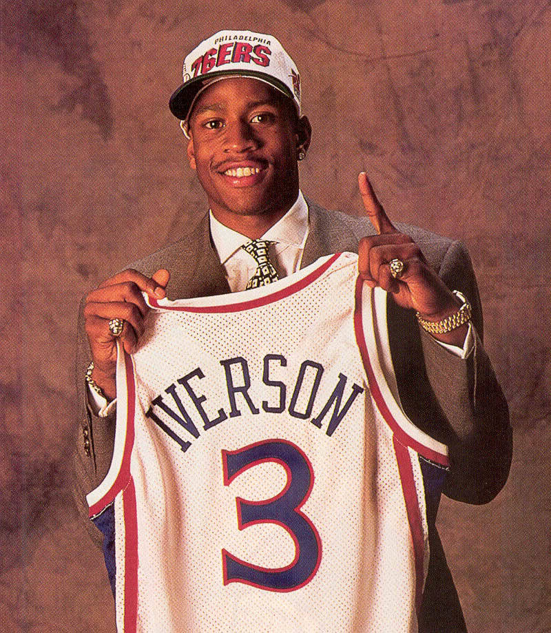 """Practice? We're talkin' 'bout practice here."" Former NBA star Allen Iverson will play on a one-month contract in a regional basketball league in the Dominican Republic."