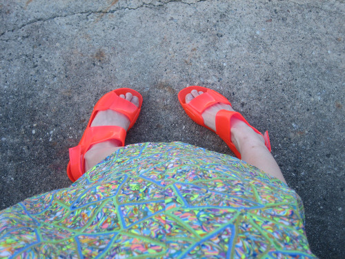Sandal weather is here!