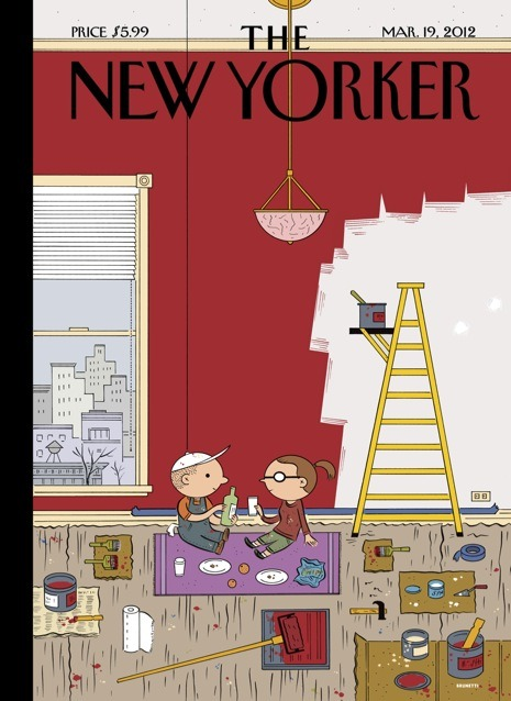 jasonrbradshaw:  Absolutely love Brunetti's New Yorker covers.