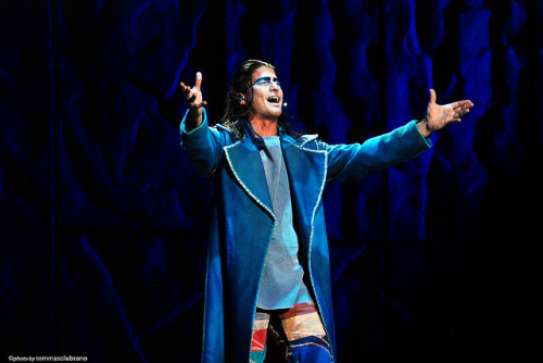 Matteo Setti as Gringoire - Italian Production