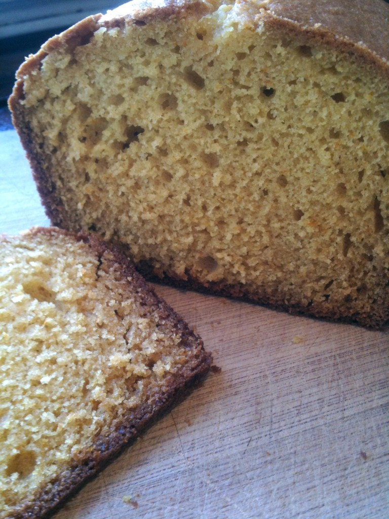 The Crumb Shot.(via Orange Loaf for Lionel — Chef Chaz - Playing With My Food)