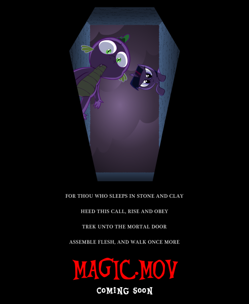 Well YIKES. I knew Twilight Sparkle would dabble in the wrong magiks some day.