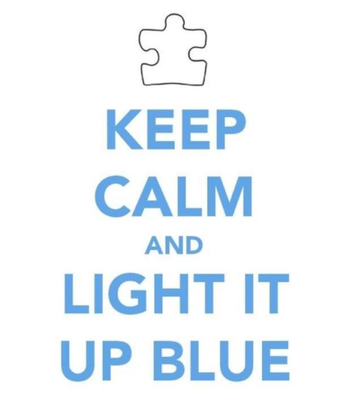 Light it up blue on April 2 for Autism Awareness Day!