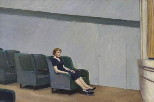 nevver:  Intermission, 1963 - Edward Hopper