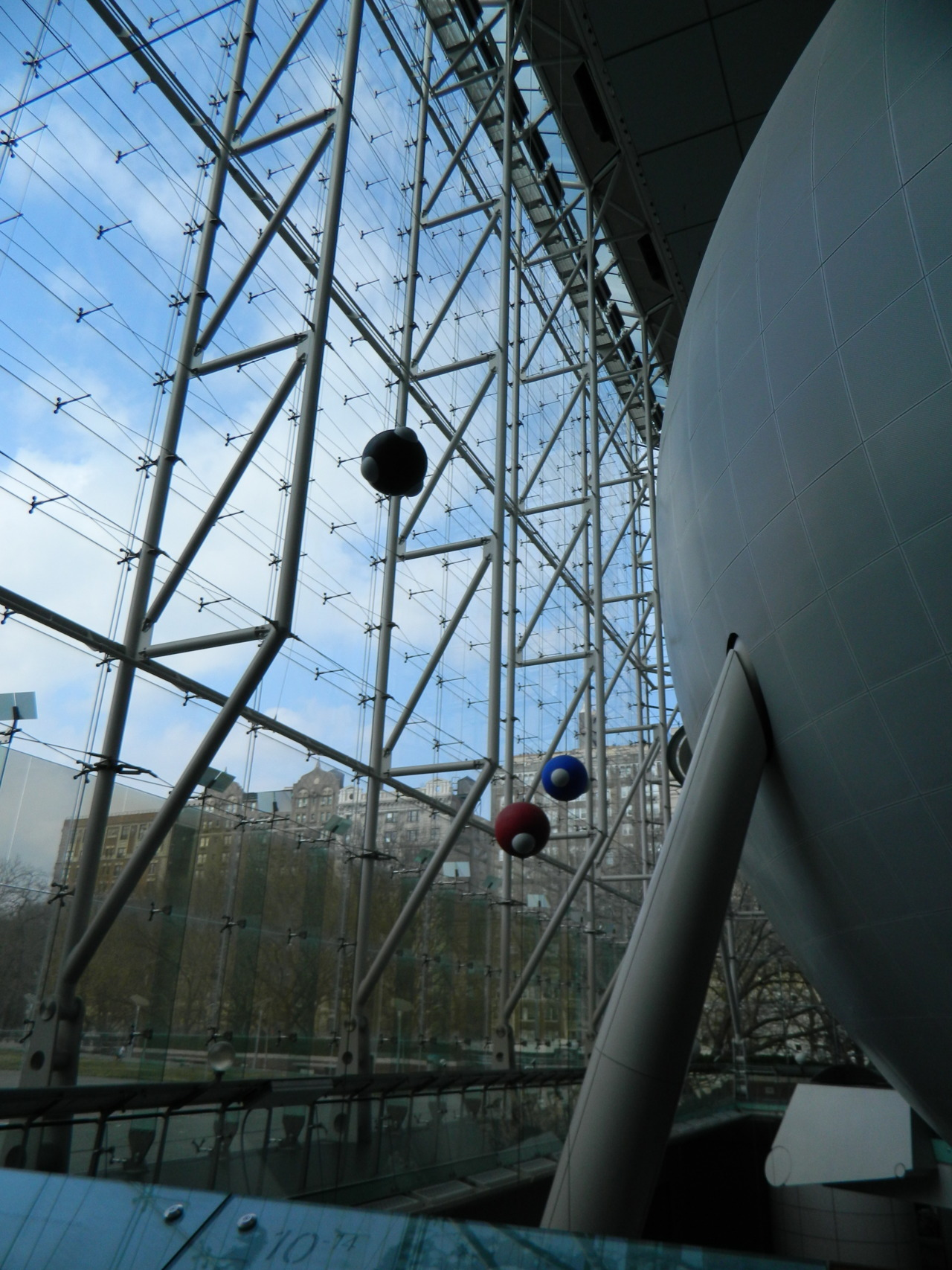stickypaste:  The Hayden Planetarium. New York, New York.