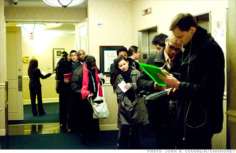 "(via Claims for unemployment benefits fall to four-year low - Mar. 22, 2012) ""NEW YORK (CNNMoney) — The number of first-time filers for unemployment benefits fell to a four-year low last week, hinting that solid job growth likely continued in March. About 348,000 people filed for initial jobless claims in the week ended March 17, down from the previous week's 353,000 claims, the Labor Department reported Thursday."" Well, Republicans, where is your answer?"